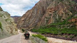 Kanion del Rio Mantaro w Peru