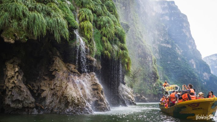 Boat trip through the Sumidero Canyon