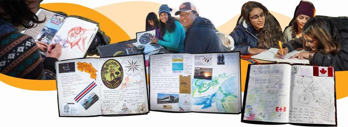 Travel Book LifeWeLove was created by people met on the road