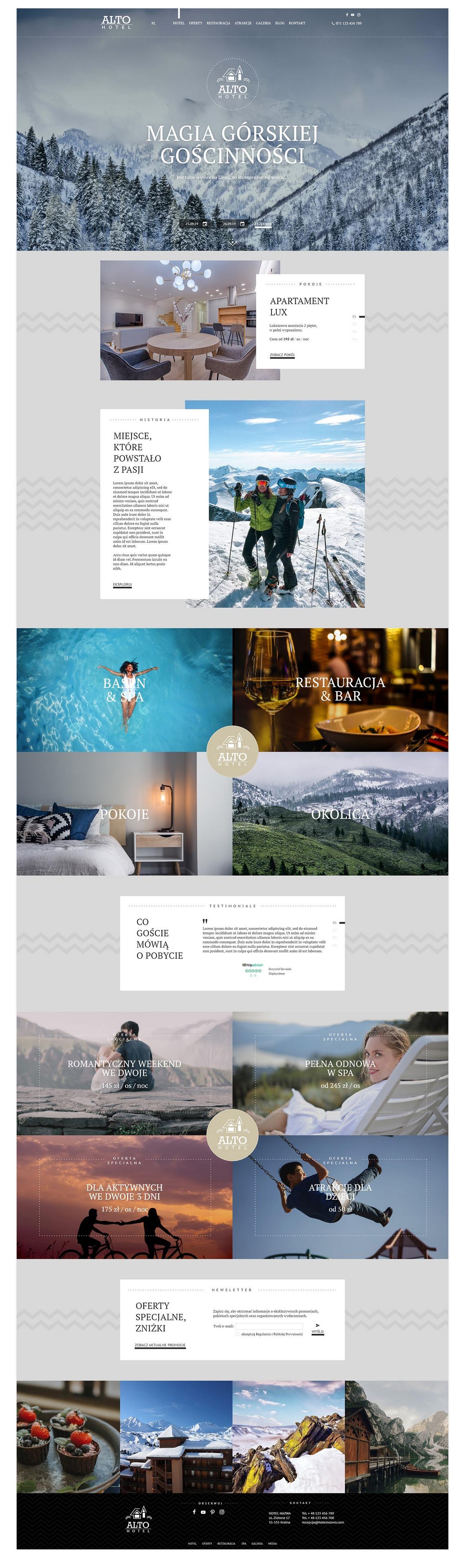 Hotel Alto Template WordPress